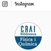 Nou compte d'Instagram al CRAI de la UB: @craifisicaiquimica