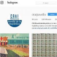 Compte d'Instagram al CRAI Biblioteca del Pavelló de la República