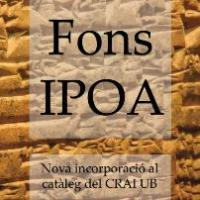Mostra sobre el Fons de l'Institut del Pròxim Orient Antic (IPOA) al CRAI Biblioteca de Lletres