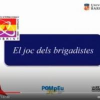 El Joc dels brigadistaes al Pompeu Lab amb la participació del CRAI Biblioteca del Pavelló de la República