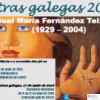 Manuel María al CRAI Biblioteca de Lletres. Mostra bibliogràfica per al Dia das Letras Galegas 2016