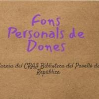 Fons personals de dones, nou recurs del CRAI Biblioteca del Pavelló de la República