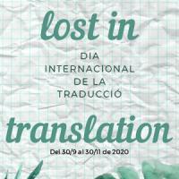 Lost in translation. Exposició al CRAI Biblioteca de Lletres