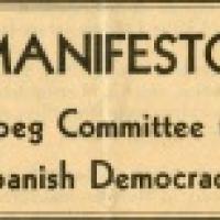 Acord de col·laboració entre el CRAI Biblioteca del Pavelló de la República signa un acord de col·laboració amb i el Canada and the Spanish Civil War
