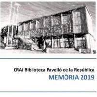 Publicada la Memòria anual 2019 del CRAI Biblioteca del Pavelló de la República