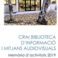 Publicada la Memòria anual 2019 del CRAI Biblioteca d'Informació i Mitjans Audiovisuals
