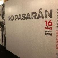"""Exposició """"No pasarán. Madrid 1936. 16 días"""" amb la participació del CRAI Biblioteca del Pavelló de la República"""