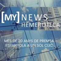MyNews Hemeroteca. Nou recurs en període de prova