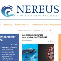 Nereus: nou butlletí d'informació en ciències del mar al CRAI Biblioteca de Ciències de la Terra