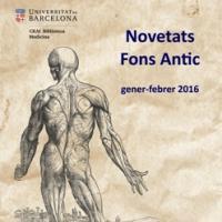 """""""Novetats Fons Antic"""". Nova publicació del CRAI Biblioteca de Medicina"""