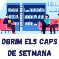 Reobrim caps de setmana i ampliem els horaris dels CRAI Biblioteques