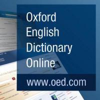 Oxford English Dictionary. Nova subscripció