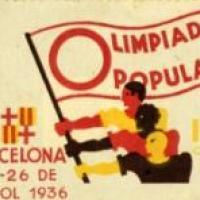 Exposició a l'Estadi Olímpic Lluís Companys amb la participació del CRAI Biblioteca del Pavelló de la República