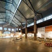 Audiovisual amb material del CRAI Biblioteca del Pavelló de la Repùblica a l'antiga fàbrica Oliva Artés (MUHBA)