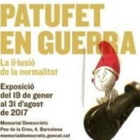 """Exposició """"El Patufet en guerra"""" amb la participació del CRAI Biblioteca del Pavelló de la República"""
