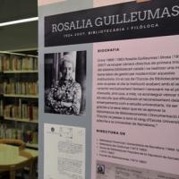 Inauguració de la sala de treball Rosalia Guilleumas al CRAI Biblioteca de Biblioteconomia i Documentació
