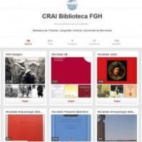 El CRAI Biblioteca de Filosofia, Geografia i Història a Pinterest
