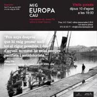 """xposició """"Mig Europa cau. Impressions de Josep Pla sobre la Gran Guerra"""" amb la col·laboració del CRAI Biblioteca del Pavelló de la República"""