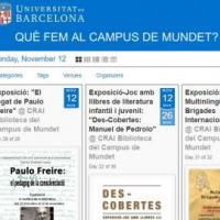 Cartellera d'activitats: Què fem al Campus de Mundet?