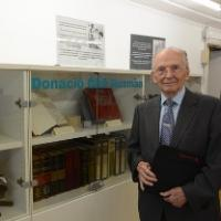 El CRAI Biblioteca del Campus Clínic exhibeix la Donació Ciril Rozman