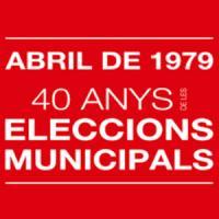 Exposició Abril de 1979. 40 anys d'ajuntaments democràtics amb la participació del CRAI Biblioteca del Pavelló de la República