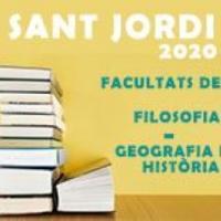 Sant Jordi 2020 al CRAI Biblioteca de Filosofia, Geografia i Història: Mostra de publicacions recents del professorat