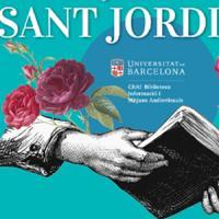 Sant Jordi 2021 al CRAI Biblioteca d'Informació i Mitjans Audiovisuals