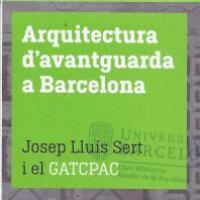 L'edifici del Pavelló de la República al plànol-guia L'arquitectura d'avantguarda a Barcelona: Josep Lluís Sert i el GATCPAC