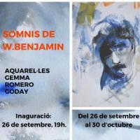 Exposició Somnis de Walter Benjamin al CRAI Biblioteca de Filosofia, Geografia i Història