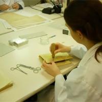 Gravat un vídeo del Taller de Restauració per a una exposició al Museu d'Història de Catalunya