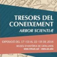 """El CRAI a l'exposició del Museu d'Història de Catalunya """"Tresors del coneixement: 'Arbor Scientiæ'"""""""