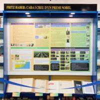 Acte d'inauguració de l'exposició Fritz Haber: Cara i Creu d'un Premi Nobel