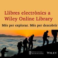 Wiley Online Library. Nova subscripció de llibres electrònics