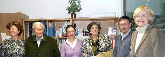 El Dr. Prevosti al CRAI Biblioteca de Biologia el març de 2009