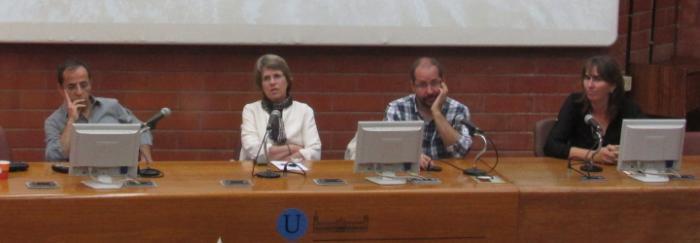 Sallie W. Chisholm a la Facultat de Biologia. © Universitat de Barcelona