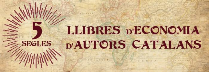 Cinc segles: llibres d'Economia d'autors catalans