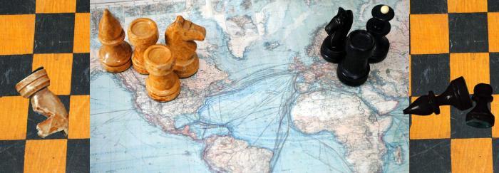 Joc d'escacs entre potències