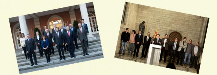 Govern de Rajoy - Partits proconsulta