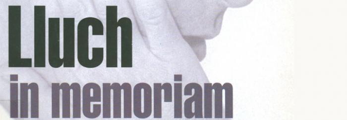 Sapere aude = Atrévete a pensar = Ausartu zaitez pentsatzera: Ernest Lluch in memoriam (2001)
