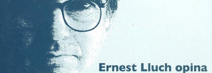 Ernest Lluch opina: articles de premsa(2001)