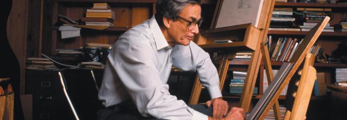 Feynman pintant
