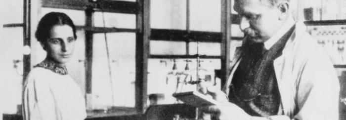Lise Meitner i Otto Hahn (1928)