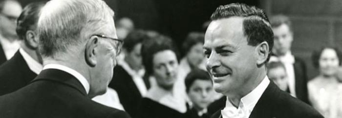 Feynman rep el Premi Nobel en Física