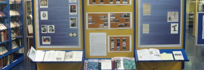 Exposició CRAI Biblioteca de Física i Química 350 anys de la Royal Society of London