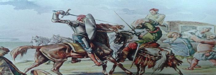 Parte1. Capítulo IX. Batalla con el gallardo vizcaíno