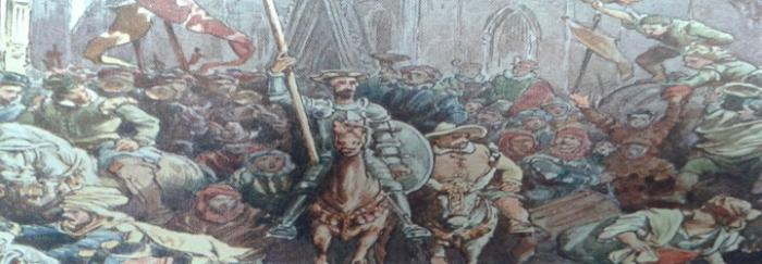 Parte2. Capítulo LXI. Entrada de don Quijote en Barcelona
