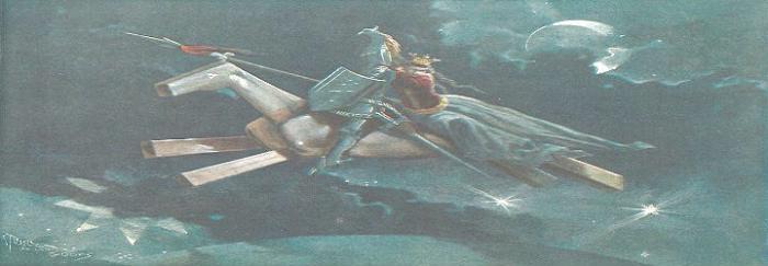 Parte2. Capítulo XL. El caballo de madera de Pierres llevando a Magalona