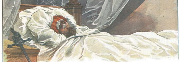 Parte 2. Capítulo XLVI. Don Quijote no puede dormir pensando en Altisidora