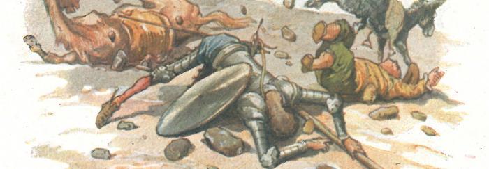 Parte 1. Capítulo XXIX. Don Quijote libera a los galeotes