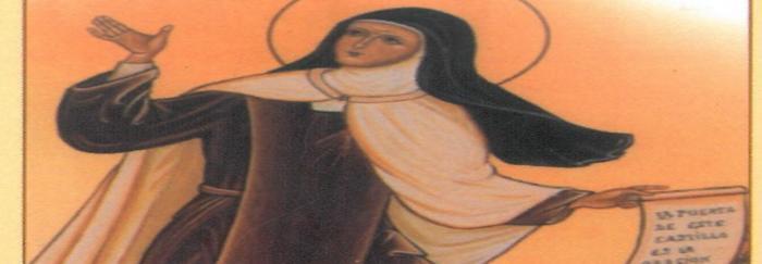 """02. Eduardo GIL DE MURO (2005). """"Al calor de las murallas : una entrevista en Ávila con Teresa de Jesús"""". Burgos : Monte Carmelo."""